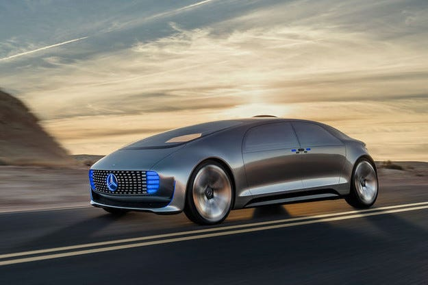 Показаха Mercedes F 015 Luxury in Motion в Лас Вегас