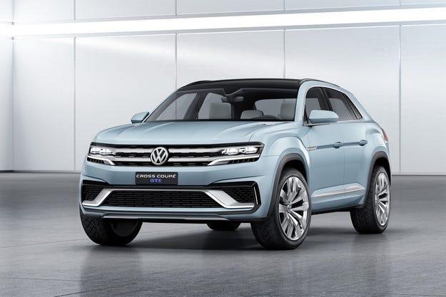 Volkswagen разсекрети новия хибриден кросоувър
