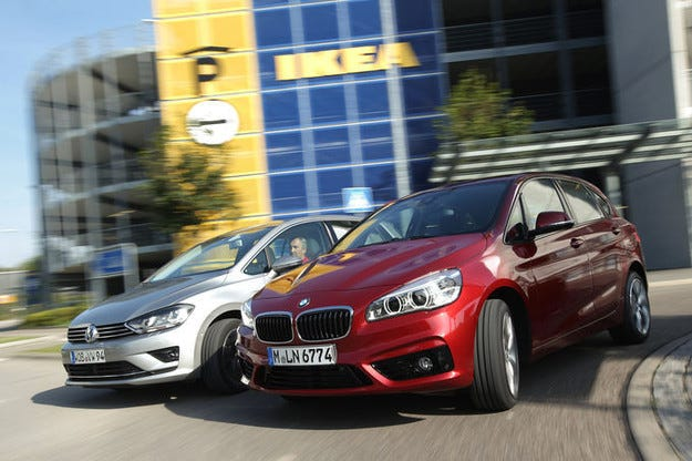 BMW 2 Active Tourer vs. VW Sportsvan