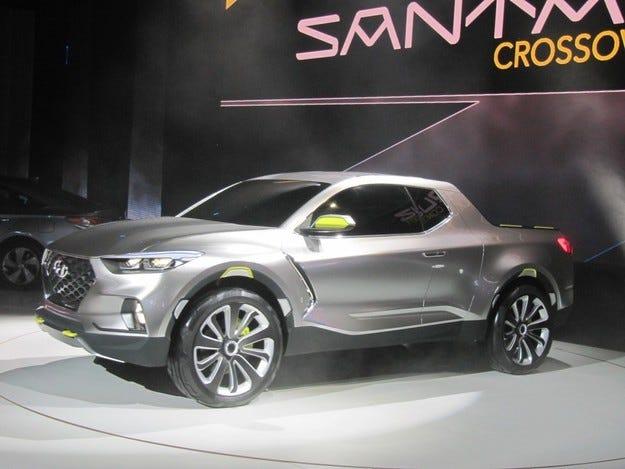 Hyundai разкри концептуален пикап за младата публика