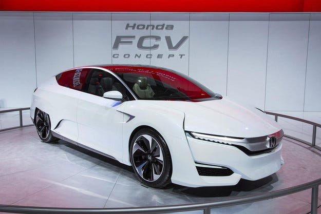Honda обнови концепта на водородния автомобил
