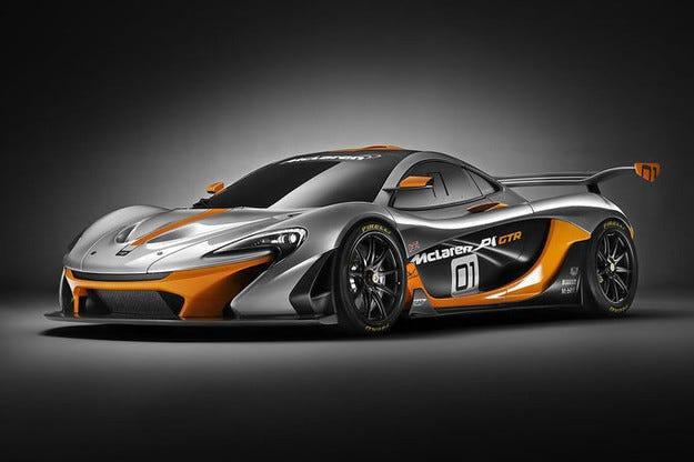 Премиера на McLaren P1 GTR край Женевското езеро
