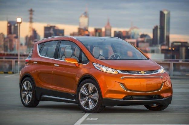 Chevrolet Bolt EV Concept: По-малкият роднина на Volt