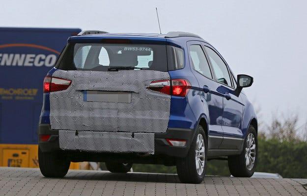 Ford ревизира EcoSport заради слабите продажби