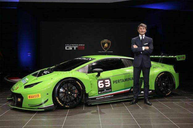 Lamborghini представи състезателния Huracan GT3