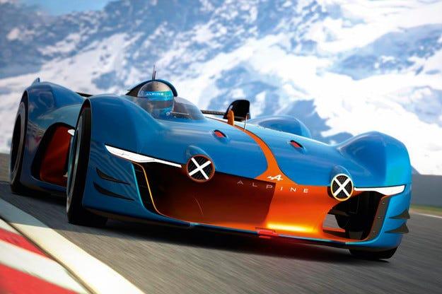 Renault разсекрети концепта Alpine Vision Gran Turismo