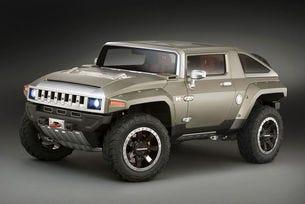 Hummer HX Concept: Възкръсва ли легендата