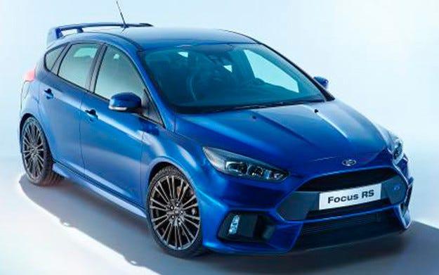 Най-мощният Ford Focus е разкрит предпремиерно