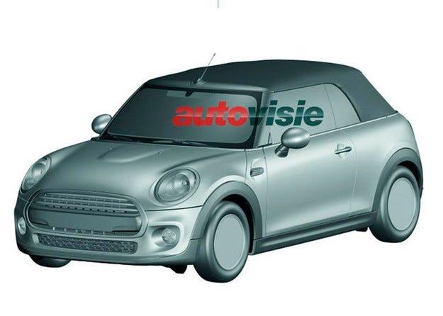 Публикуваха първите изображения на новия кабриолет Mini