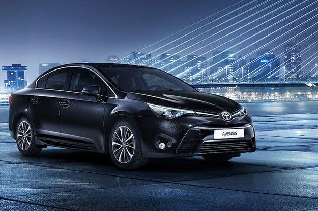 Японската компания Toyota разсекрети обновения Avensis