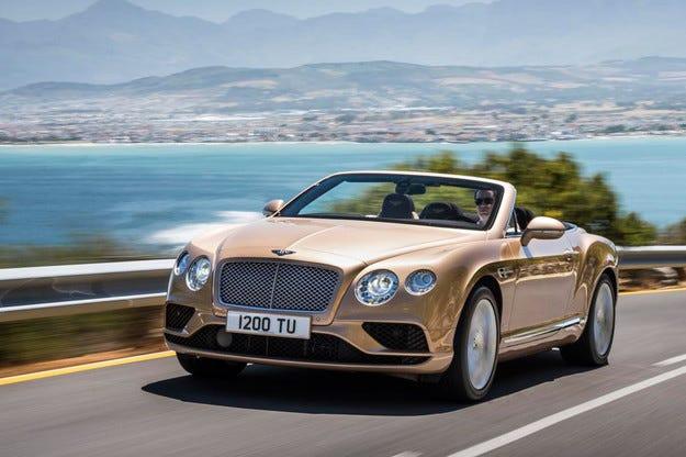 Bentley представи обновената фамилия Continental GT