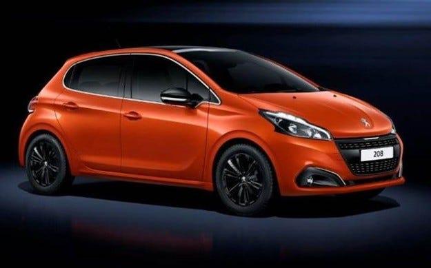 Появиха се първите изображения на обновения Peugeot 208