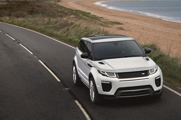 Обновеният Range Rover Evoque получава и нов двигател
