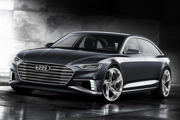 Audi свали воала над хибридното комби Prologue