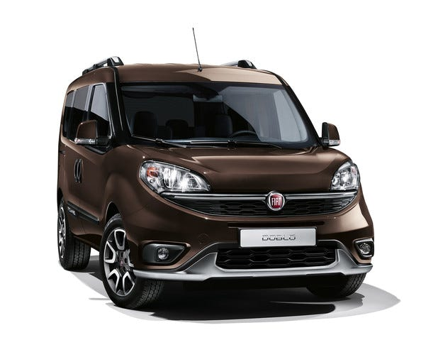 Fiat Doblo получи високпроходима версия Trekking