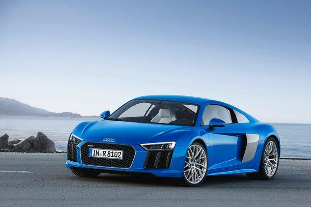 Audi R8 получава двигател V10 с 610 конски сили