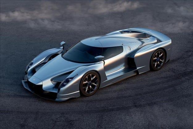 Италианската компания SCG показва нов спортен автомобил