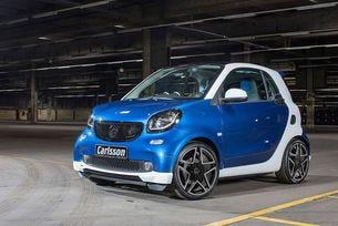 Carlsson Smart CK10: Малкият Fortwo с наточена визия