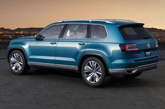 Седемместеният VW Tiguan ще бъде произвеждан в Мексико