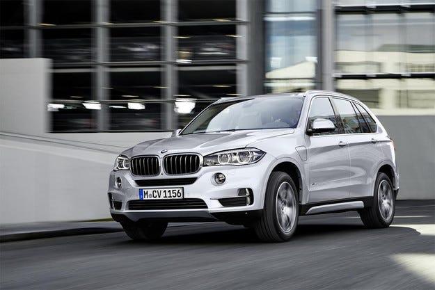 Немската компания BMW представи хибридната версия X5