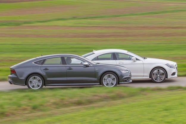 Audi S7 Sportback vs. Mercedes CLS 500 4Matic