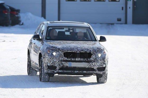 Прототипът BMW X3 за 2016: Това е новата Тройка