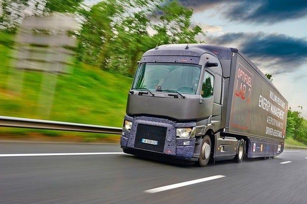 Renault Trucks - Optifuel Lab 2 понижава разхода с 22%