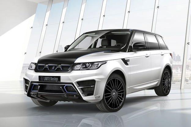 Larte Design Range Rover Sport: Победител с 400-к.с. дизел