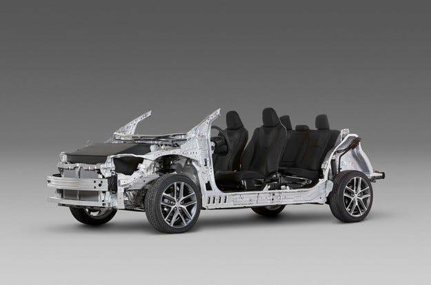 Компанията Toyota представи нова модулна платформа
