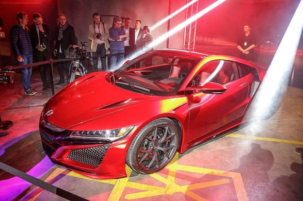Honda NSX ще се опита да постави рекорд на Нюрбургринг
