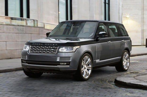 Разкриха най-луксозния всъдеход Range Rover