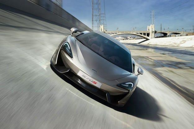 McLaren разкри най-достъпния си спортен автомобил