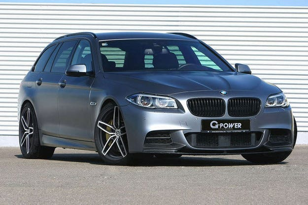 G-Power направи комбито BMW Серия 5 световен шампион