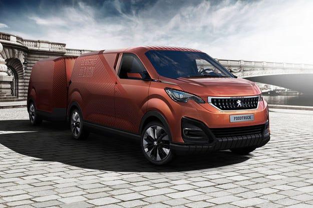 Peugeot конструира мобилен кетъринг Bistrot du Lion