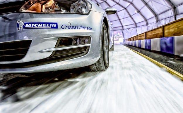 Michelin CrossClimate - лятна гума със сертификат за зимата