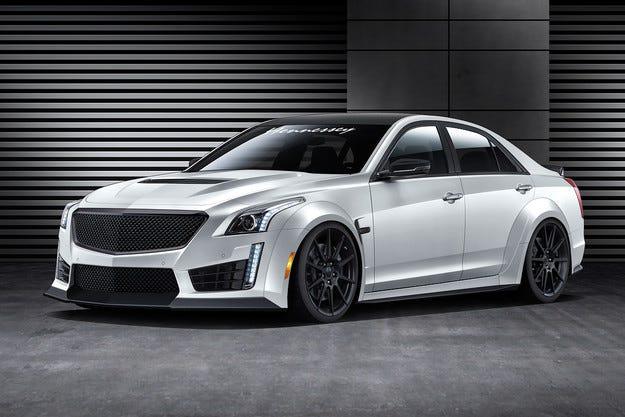 Cadillac CTS-V става най-бързият седан в света