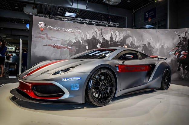 Първият полски супер автомобил влиза в производство