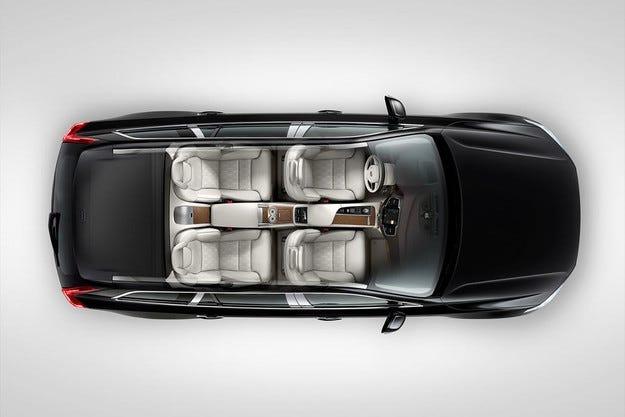 Volvo показа най-скъпата модификация на кросоувъра XC90