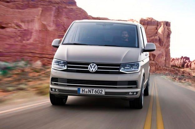 Volkswagen разкри новото поколение Transporter