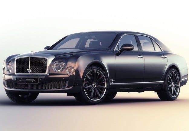 Специален Bentley Mulsanne посветен на 85-годишен юбилей