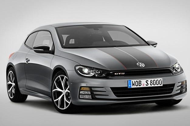 Обновеният Volkswagen Scirocco GTS с 220 конски сили