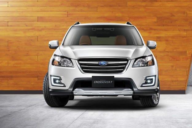 От комбито Subaru Exiga направиха седемместен кросоувър