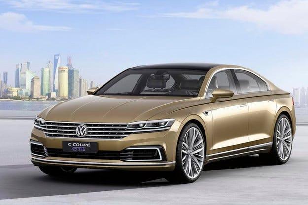 Volkswagen разкри прототип на нов хибриден седан