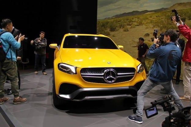 Новият Mercedes GLC Coupé атакува BMW X4