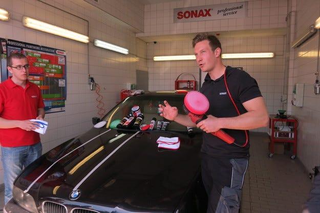 Sonax представи последните технологични иновации