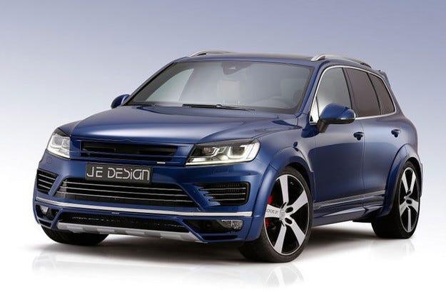 JE Design VW Touareg: Повече мощ и стил за флагмана