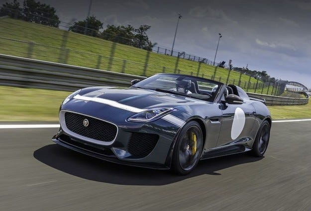 Jaguar F-Type SVR ще e най-мощният модел на марката