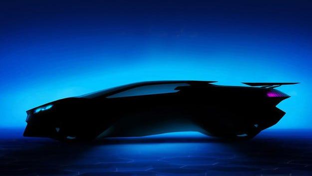 Компанията Peugeot създаде виртуален супер автомобил