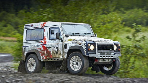 Специалните кросоувъри Land Rover  с табели SVX