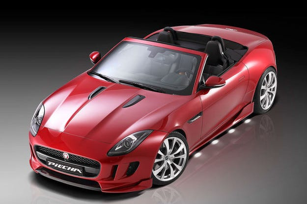 Piecha Jaguar F-Type: От котешки към спортен дрескод